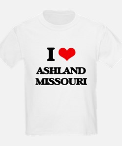 I love Ashland Missouri T-Shirt
