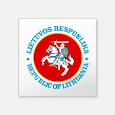 Lithuania COA rd Sticker