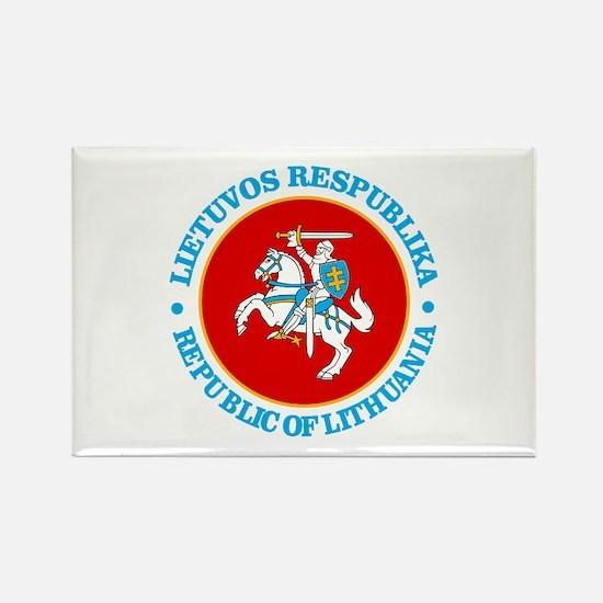Lithuania COA rd Magnets