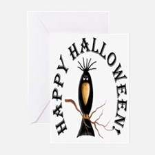 Black Crow Halloween Cards (Pk of 20)