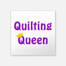 Queen of Quilting Sticker