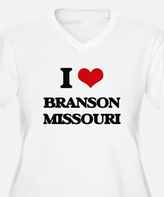 I love Branson Missouri Plus Size T-Shirt