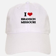I love Branson Missouri Baseball Baseball Cap