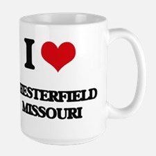 I love Chesterfield Missouri Mugs