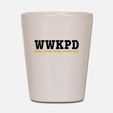 Eastbound and Down: WWKPD Shot Glass