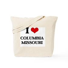 I love Columbia Missouri Tote Bag