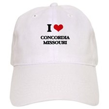 I love Concordia Missouri Baseball Cap