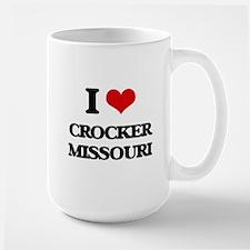 I love Crocker Missouri Mugs