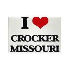 I love Crocker Missouri Magnets
