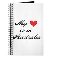 My Heart is in Australia Journal