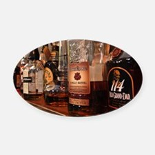 Bourbons Oval Car Magnet