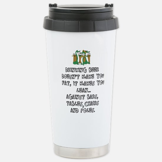 Beer Drinking Travel Mug