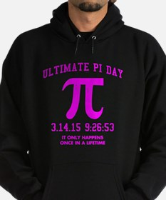 Ultimate PI Day 2015 Hoodie (dark)