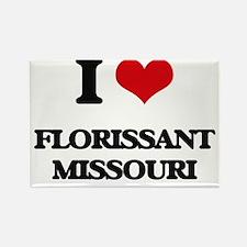 I love Florissant Missouri Magnets