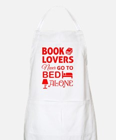 Book Lovers Never Alone Apron