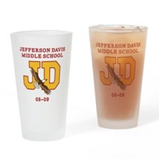 Jefferson Davis Middle Drinking Glass