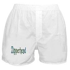Zipper Boxer Shorts