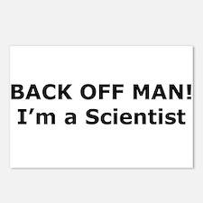 Back Off Man! Postcards (Package of 8)