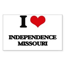 I love Independence Missouri Decal