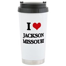 I love Jackson Missouri Travel Mug