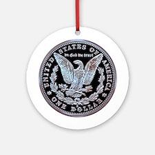 San Francisco Old Mint Dollar Ornament (Round)