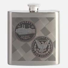 San Francisco Old Mint Dollar Flask