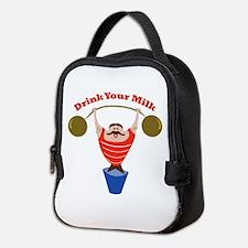 Drink Your Milk Neoprene Lunch Bag