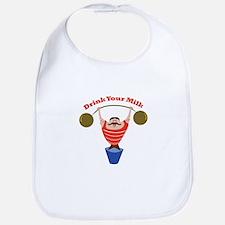 Drink Your Milk Bib