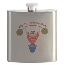 Big Strong Man Flask