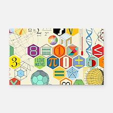 Funny Math Rectangle Car Magnet