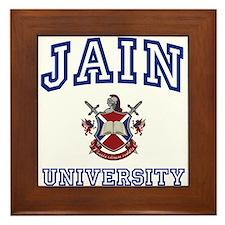 JAIN University Framed Tile