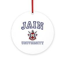 JAIN University Ornament (Round)