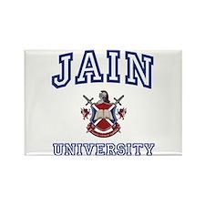 JAIN University Rectangle Magnet