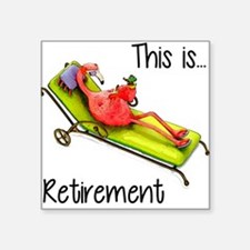 Retirment Sticker