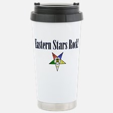 Eastern Stars Rock Stainless Steel Travel Mug