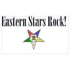Eastern Stars Rock Poster