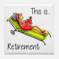 Retirment Tile Coaster