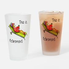 Retirment Drinking Glass