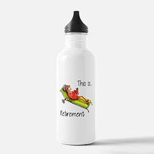 Retirment Water Bottle