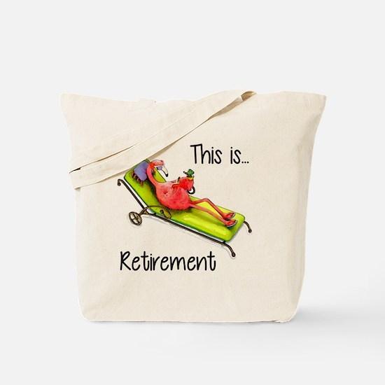 Retirment Tote Bag
