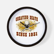 cheating death 1931 Wall Clock