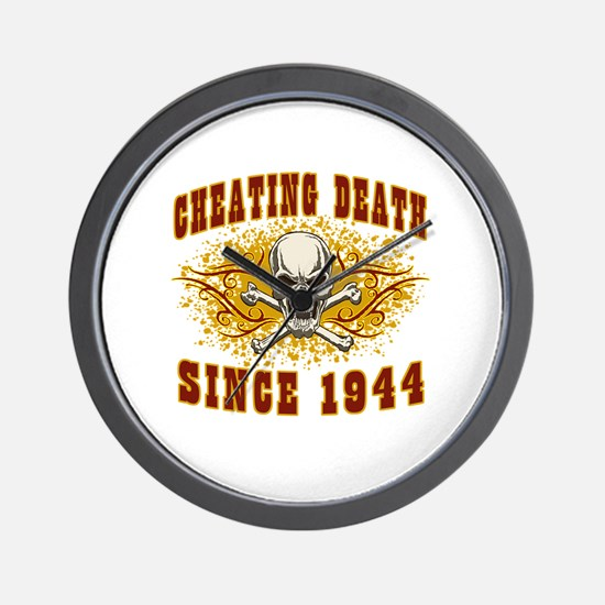 cheating death 1944 Wall Clock