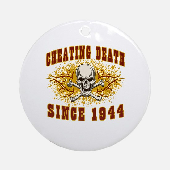 cheating death 1944 Round Ornament
