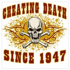 cheating death 1947 Canvas Art