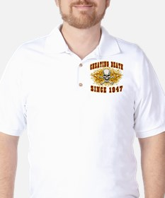 cheating death 1947 Golf Shirt