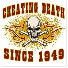 cheating death 1949 Framed Print