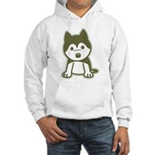 Husky Puppy Hoodie