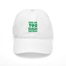 Beer Me You Irish Bastard Baseball Baseball Cap