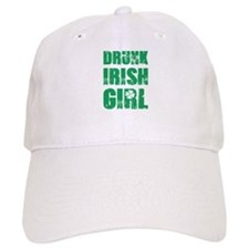 Drunk Irish Girl Baseball Baseball Cap