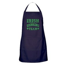 Irish Drinking Team Apron (dark)